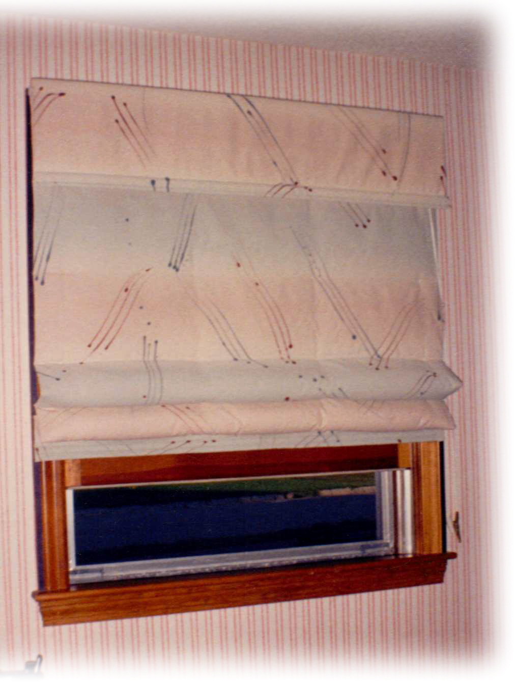 Roman Quilt Insulated Shades Can Be Installed Several Ways